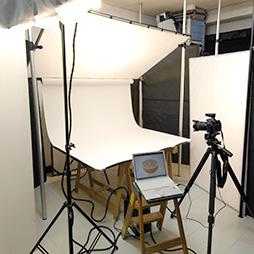 写真:スタジオ室内